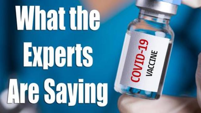 The COVID Vaccine – Ask The Experts…
